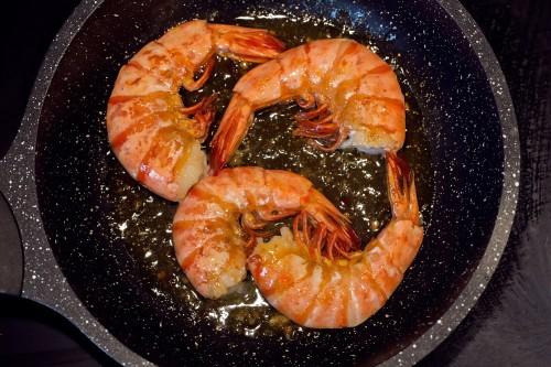 Argentininės raudonosios krevetės C2, 56/100, be galvos, su kiautu, 12 kg, šaldytos