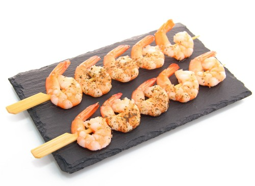Baltakojos blyškiosos krevetės iešmeliai, 41/50,1 kg, šaldytos